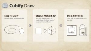 Cubify Draw 3d system