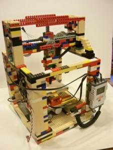 La-stampante-3D-di-Lego la legobot di realizzata Matthew Krueger