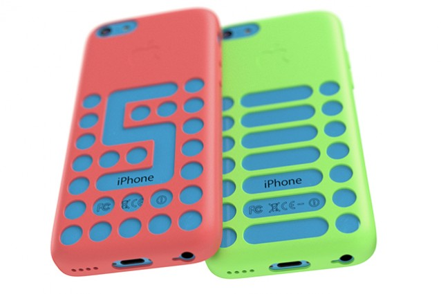 custodia iphone 5c originale