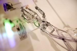 braccio stampato in 3D di Terminator