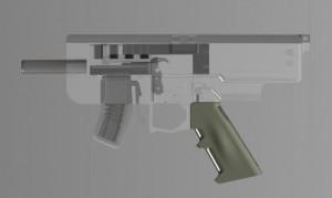 mitraglietta stampata in 3d