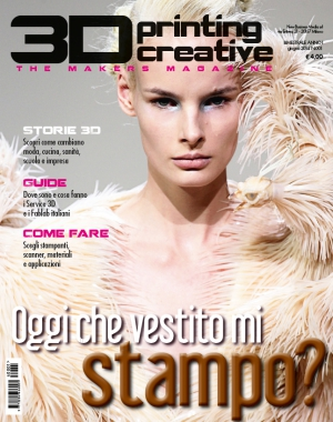 3d printing creative la rivista italiana della stampa 3d for Rivista casalinga per artigiani