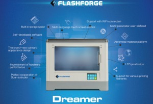 Flashforge Dreamer 3D