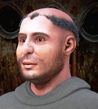 ricostruzione-volto sant'antonio da Padova