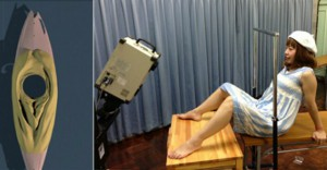 artista-giapponese-vagina stampa 3d canoa Megumi Igarashi  Rokudenashiko