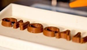 stampante 3d pe cioccolato