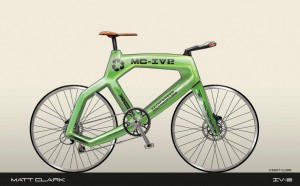 Innervision la bicicletta stampata in 3d di Matt Clark 05