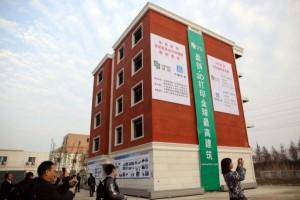 Winsun Cina palazzo e villa stampati in 3d 01