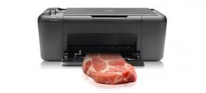 carne e stampa 3d nel futuro