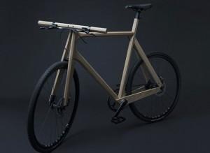paul timmer bici legno alluminio stampata in 3d
