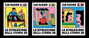 Andy Rementer e i francobolli di San Marino la rivoluzione della stampa 3d 07
