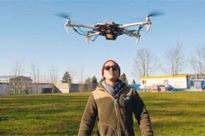 Avian drone canadese per la sicurezza e le emergenze stampato in 3d 02