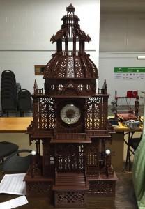 Jason Preuss e il suo orologio clock Dome stampato in 3d 03
