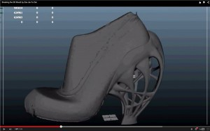 Jia-Yu Dai Breaking the Mould 3D le scarpe d'alta moda stampate in 3d 02