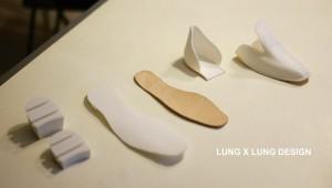Lung x Lung design scarpe con tacco intercambiabile 03