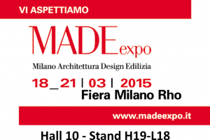MADE expo di Milano 2015