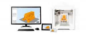 Tumaker Voladora V3 3D stampante e  DigiBuu 3D scanner 03