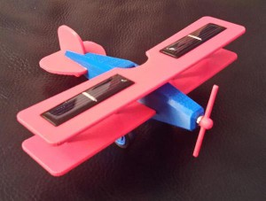 Aeroplano a celle solari stampato in 3d 01