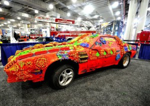 Chevrolet Camaro stampa 3d ricoperta