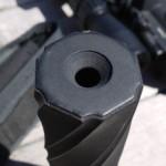 Silenziatore per arma da fuoco stampato in 3d in metallo 04