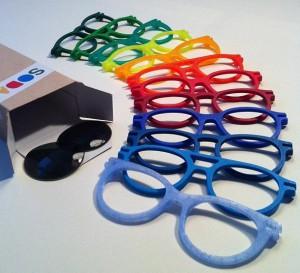 Soda concept occhiali stampati in 3d
