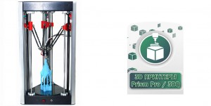 Stampante PRISM Mini Delta 3D della 3DQuality 01