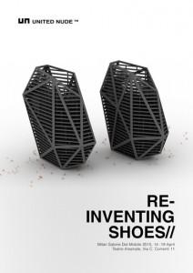 re inventing shoes al fuorisalone milano 2015