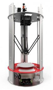 Spiderbot versione 2.1 la stampante 3d stile delta con un nuovo sistema di riscaldamento 02