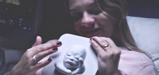 Tatiana Guerra e il figlio murilo prima della nascita stampato in 3d 01