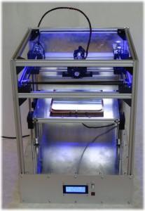 Vulcanus V1 la stampante 3d dello studente tedesco Johannes Rostek  04