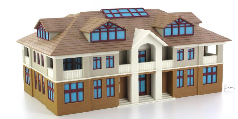 Amazing casa stampata in d con la cellulosa with progetto for Cercatore di progetti di casa