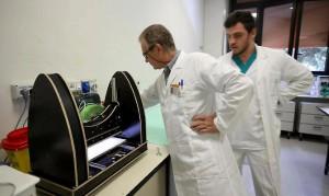 ossa bacino stampate in 3d all'Istituto Ortopedico Rizzoli di Bologna