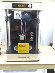 Creatable D2 Delta stampante 3d della ATEAM Venture 07