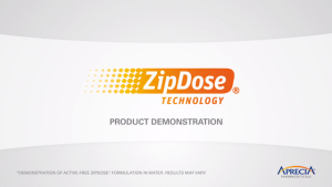 aprecia zip dose