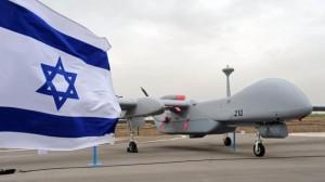 drone israele bandiera
