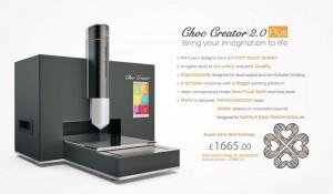 Choc creator 2.0 plus choc edge stampante 3d cioccolato 02