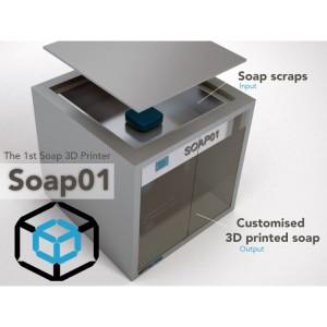 Soap01 la stampante 3d a sapone 03