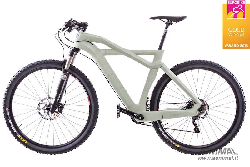 Bhulk Di Eurocompositi La Bicicletta Stampata In 3d Vince Il