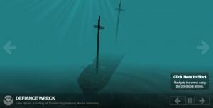 Navi naufragate nei Grandi Laghi stampate in 3d 04