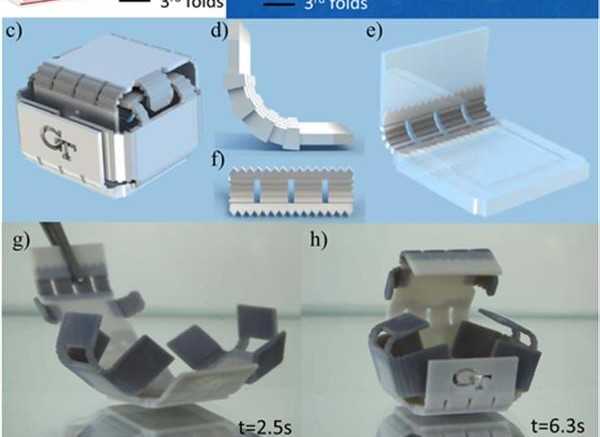 La Stampa 4d E Le Strutture Autopieghevoli Con Polimeri Intelligenti A Memoria Di Forma Smp Stampati In 3d Stampare In 3d