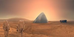 la cupola di ghiaccio che vince il Nasa Mars Habitat 05
