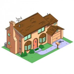 Casa dei Simpson stampata in 3d 05