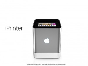 Apple iprinter 3d di Martin Hajek 02