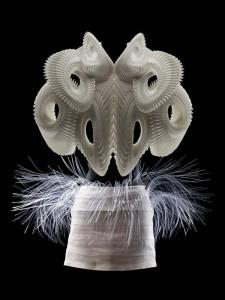 Iris van Herpen abito stampato in 3d