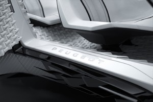 Peugeot Fractal e Materialise per la camera anecoica 05