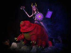 Barbie e il tardigrade stampati in 3d 03