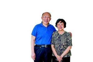 Zhang Haiou e sua moglie professoressa Wang Guilan