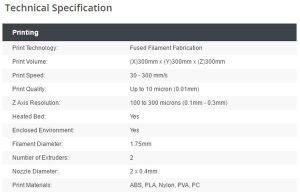Zinter Pro II della Ion Core Technology  stampante 3d  04