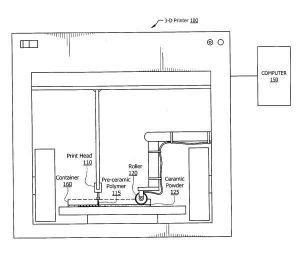loockeed martin brevetto per stampa 3d diamanti