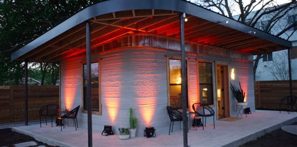 Una casa stampata in 3d per 4000 dollari dalla icon presto for Ottenere una casa costruita a basso costo